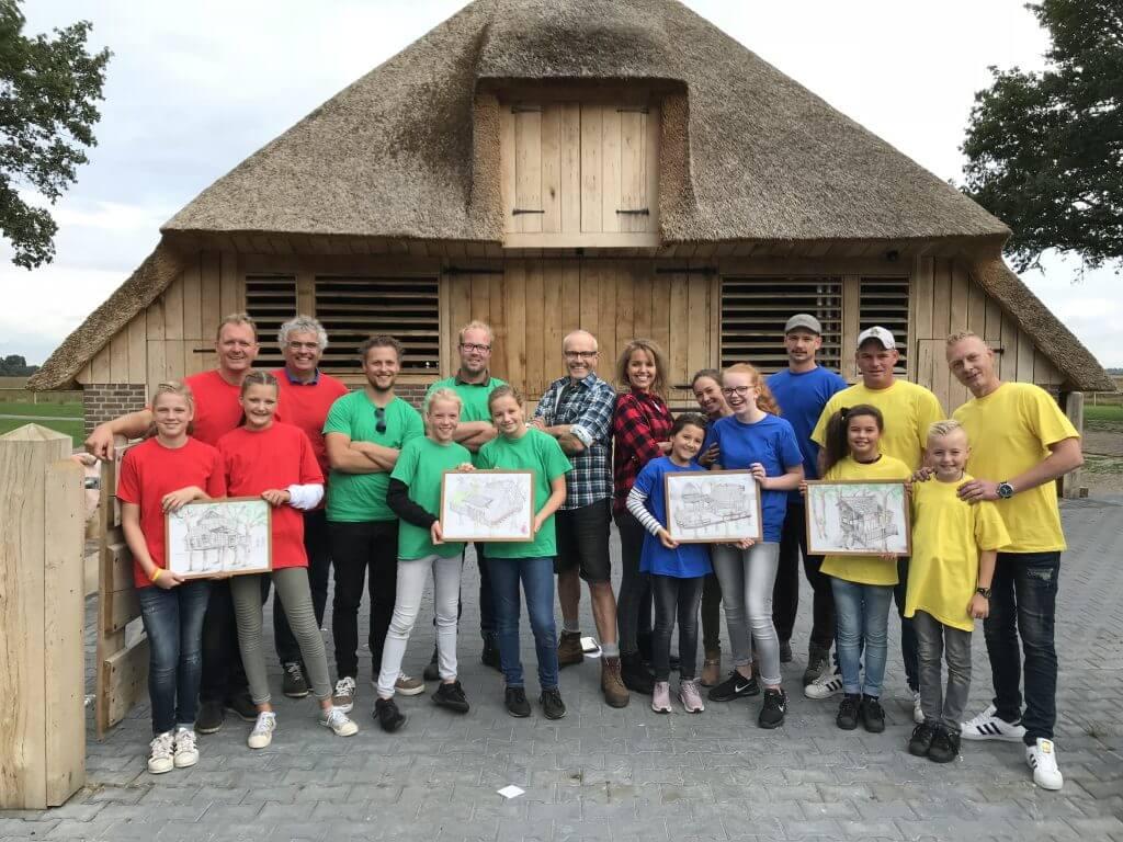 Team Rood 'Landgoed Tolhek' Boomhut Battle Drenthe